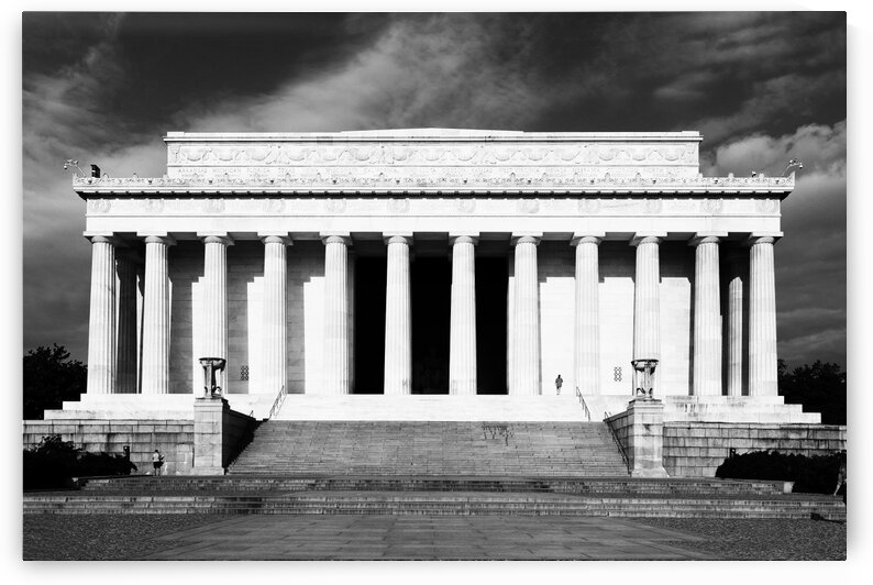 Lincoln Memorial Elevation by Sherman Rivers
