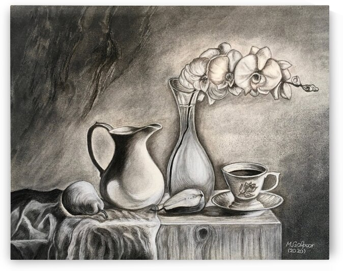 Still Life by Morteza Golpoor