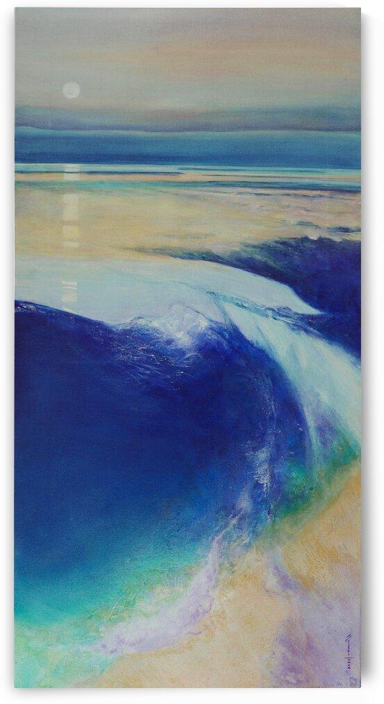 I shall meet thee in the ocean of thy stillness by Shrishti Tassin