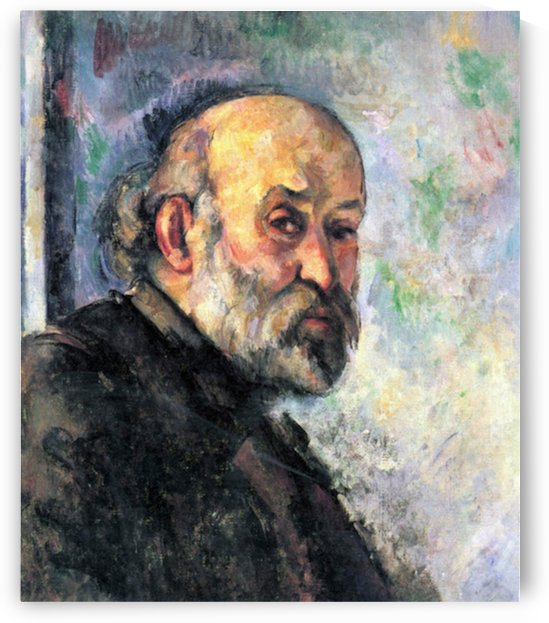 Self Portrait 4 by Cezanne by Cezanne