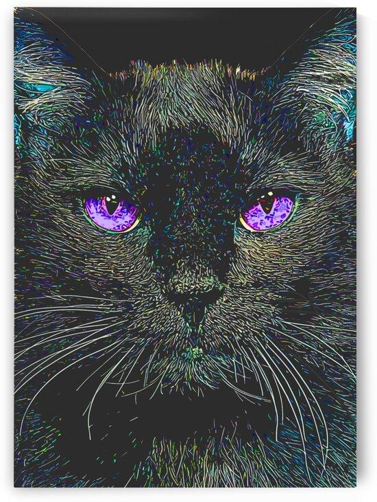 cat animal black by ThogiGio