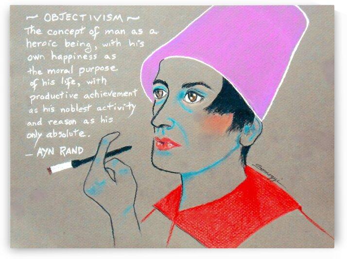 Ayn Rand by Jayne Somogy
