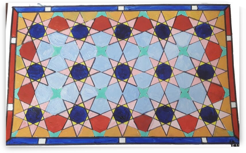 Islamic GeoArt 12Dec 2 by Yasmin MUhammad Elias