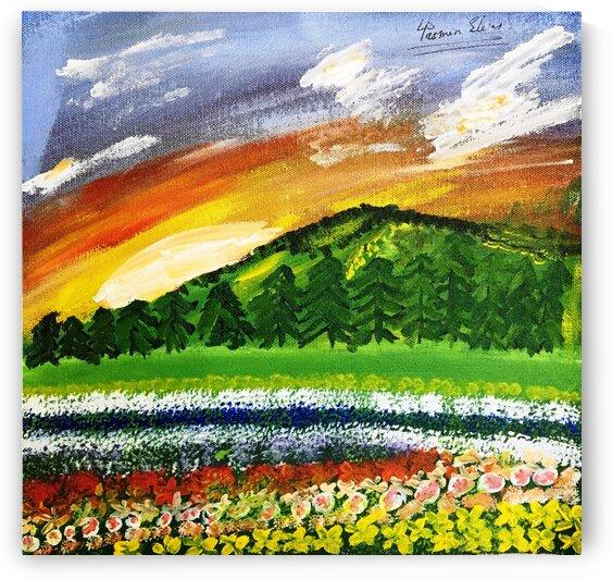 Lanscape Sunrise by Yasmin MUhammad Elias