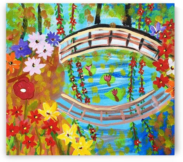 ClaudMonet sbridgegarden by Yasmin MUhammad Elias
