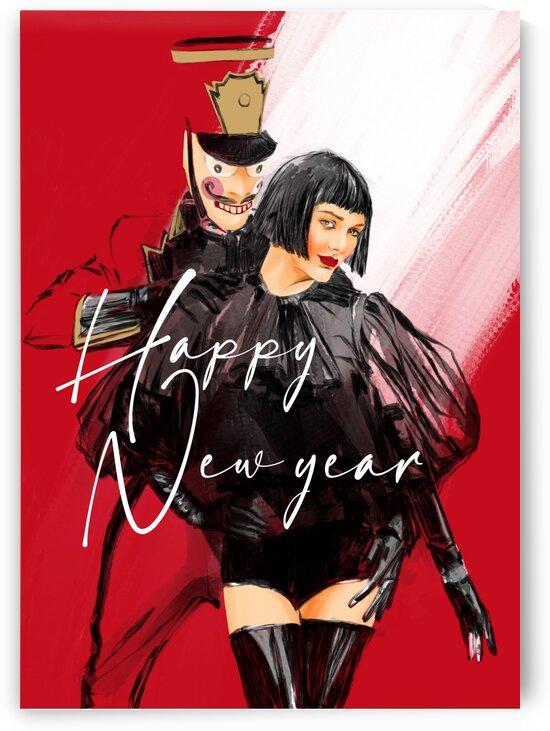 new year by Evgeniya Abramova