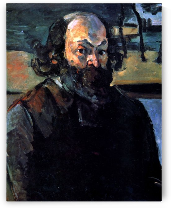 Self Portrait of Cezanne by Cezanne by Cezanne