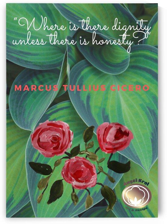RosesPaint quote by Yasmin MUhammad Elias