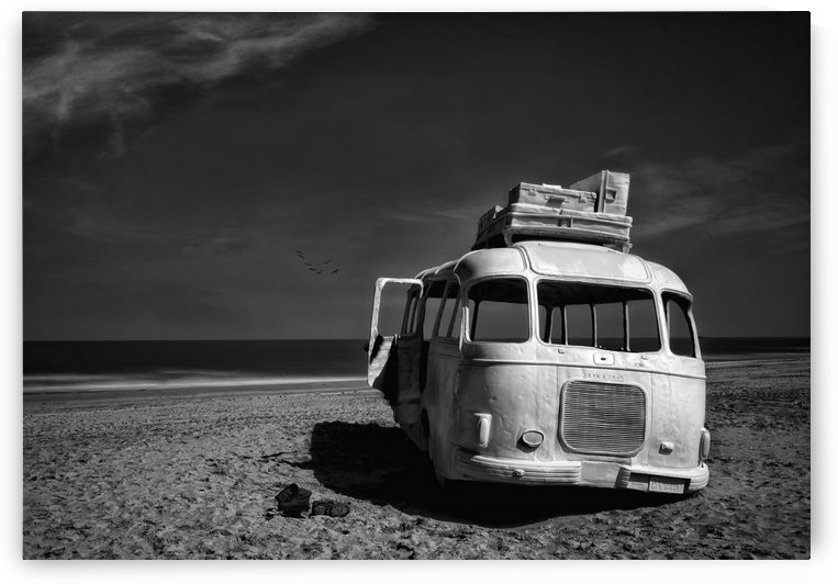 Beached Bus by 1x