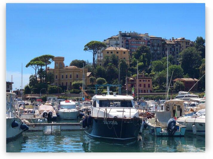 Rapallo porto by Teofil Tiulkin