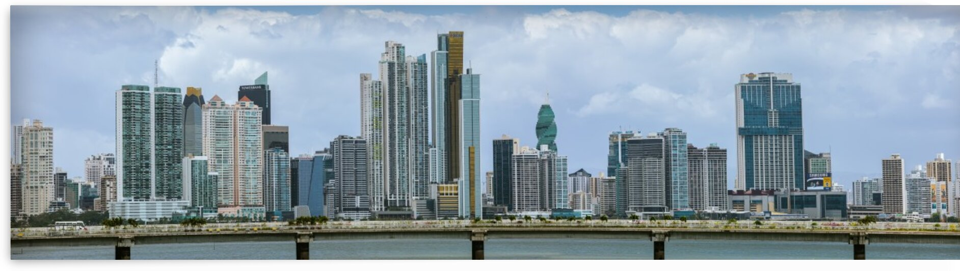 Panama City Panorama by Nicholas