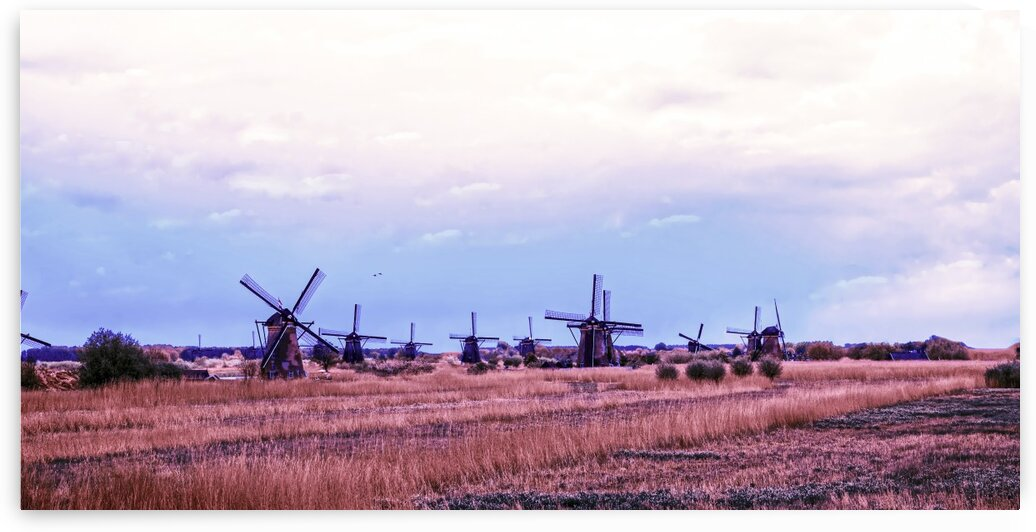 Wonderful Windmills by 24