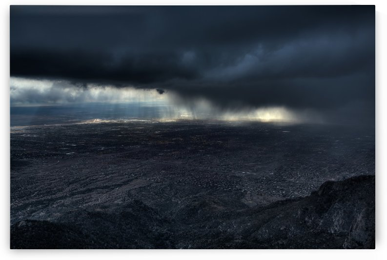 Storm over Alburquerque by Max Witjes  by 1x