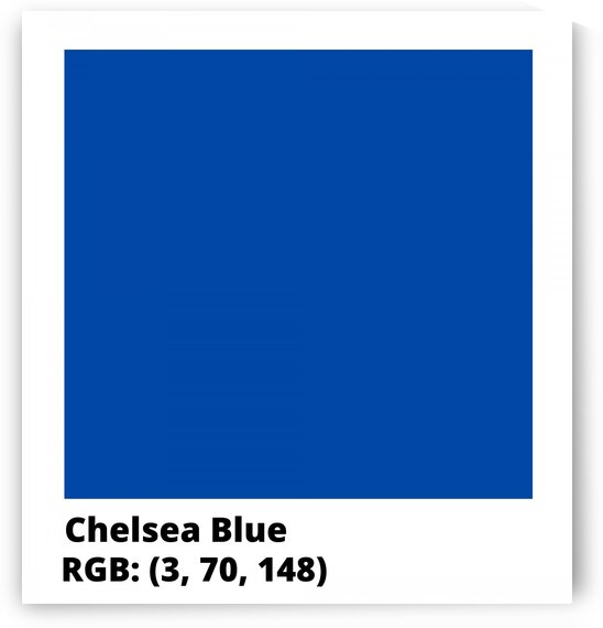 Chelsea Blue  RGB by Vicky Hanggara