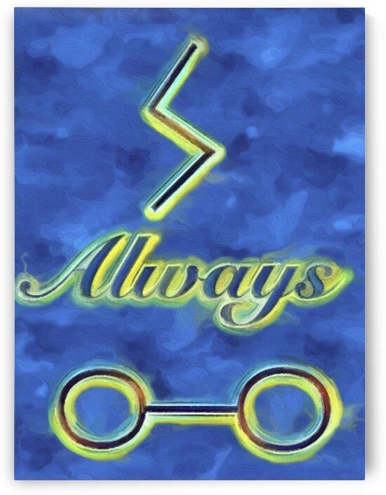 Harry Potter fan Art - Always  by Susan C
