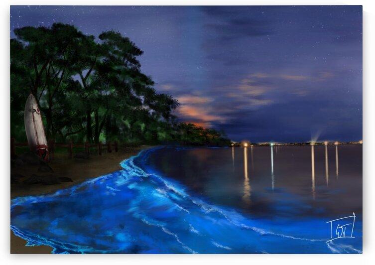 Beach Blues by Vivid Dreams Art