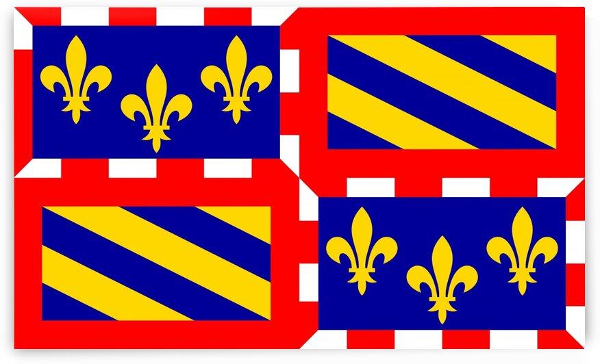 Bourgogne flag by Tony Tudor