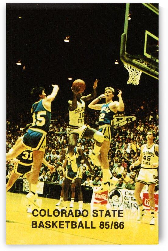 1985 Colorado State University Basketball by Row One Brand