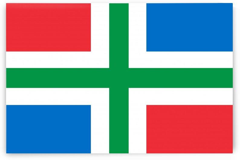 Groningen flag by Tony Tudor