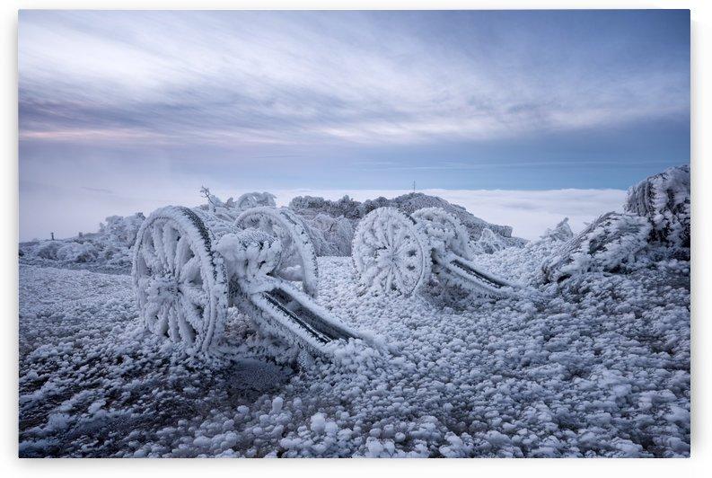 Winter on Shipka Peak by Milen Dobrev  by 1x