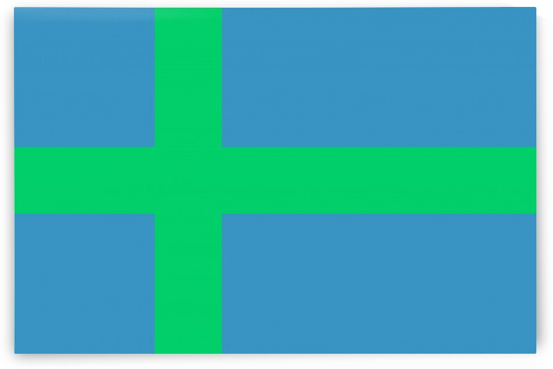 Votic people flag by Tony Tudor