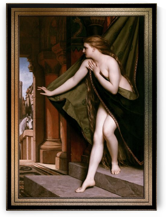 Lady Godiva by Jozef Van Lerious Classical Fine Art Reproduction by xzendor7