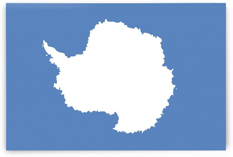 Antarctica flag by Tony Tudor