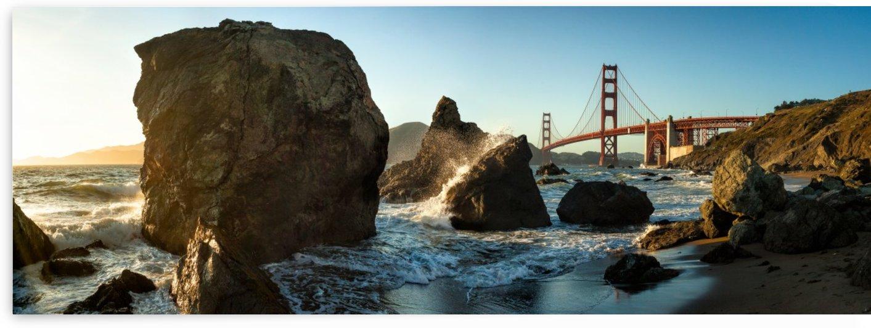 The Golden Gate Bridge by 1x