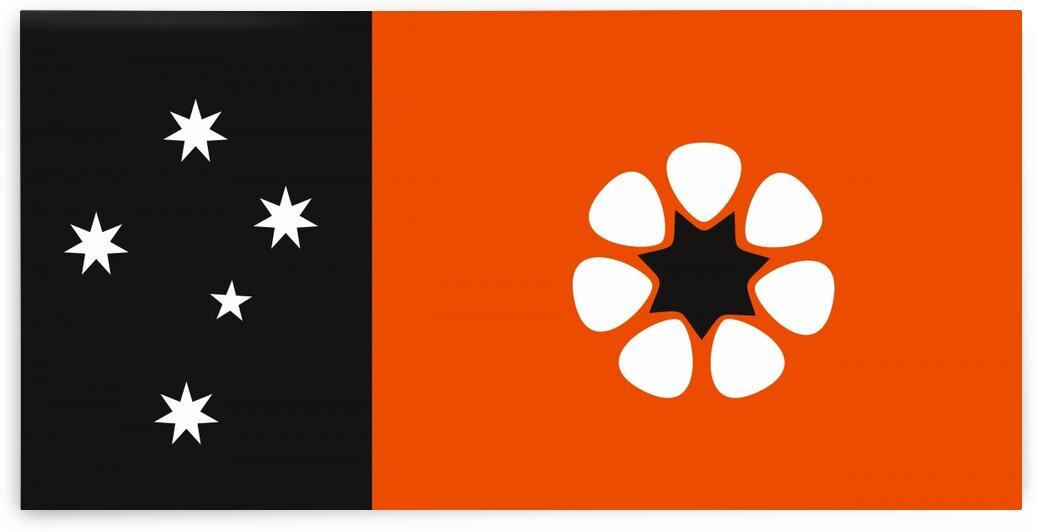 Australia northern territory flag by Tony Tudor
