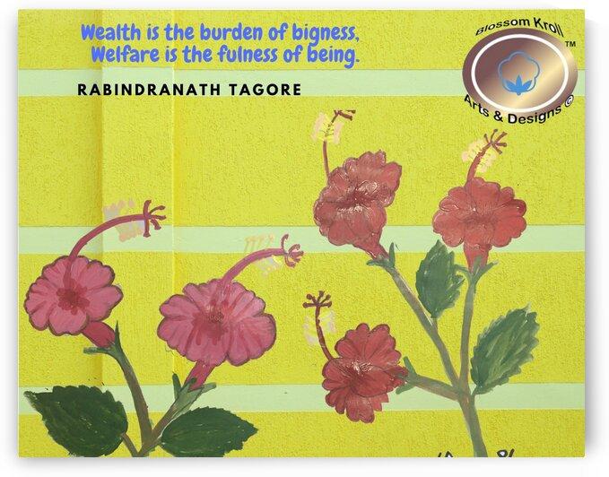 ChinaRose R TagoreQuote by Yasmin MUhammad Elias