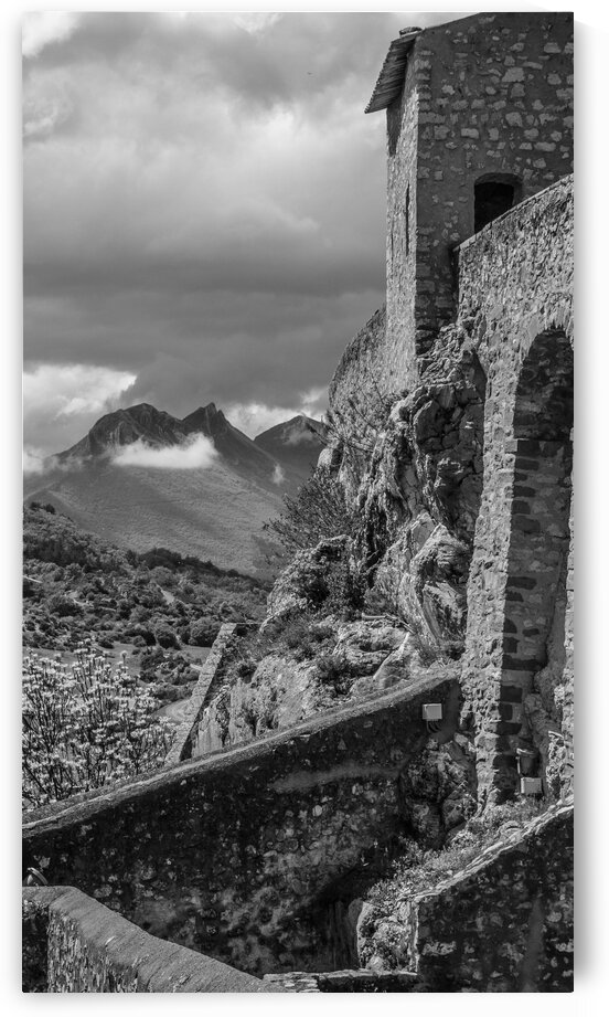 Citadel of Sisteron in France by bj clayden photography