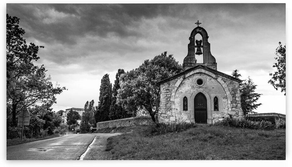 Roadside Chapel in France by bj clayden photography