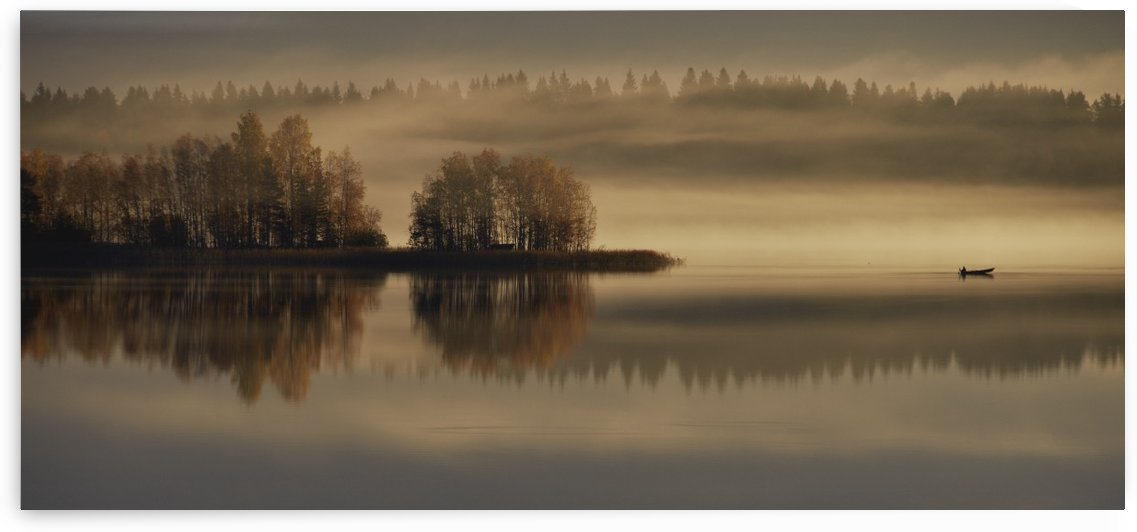 Early Autumn Morning by 1x