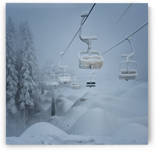 Snow by Ernst Fusser  by 1x