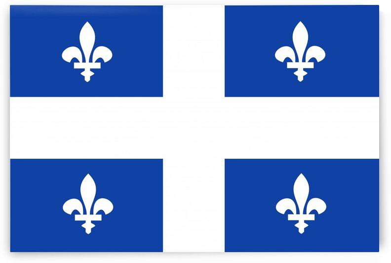 quebec flag by Tony Tudor