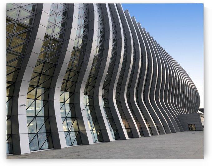 Airport building Simferopol by Teofil Tiulkin