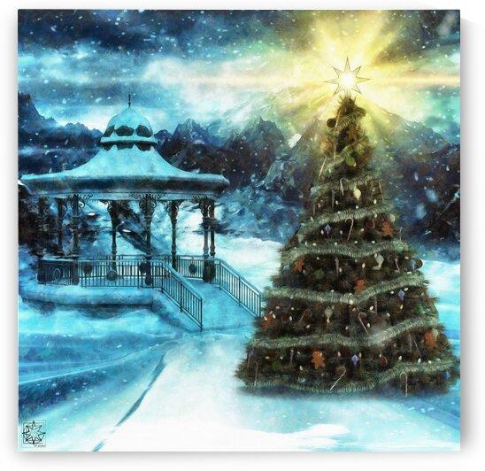 Illuminated for Christmas 2020 by ChrisHarrisArt