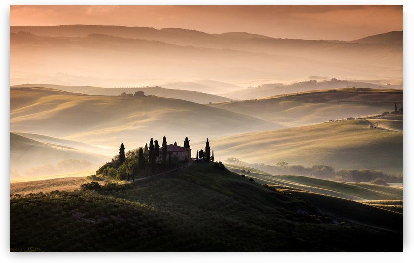 A Tuscan Country Landscape by 1x