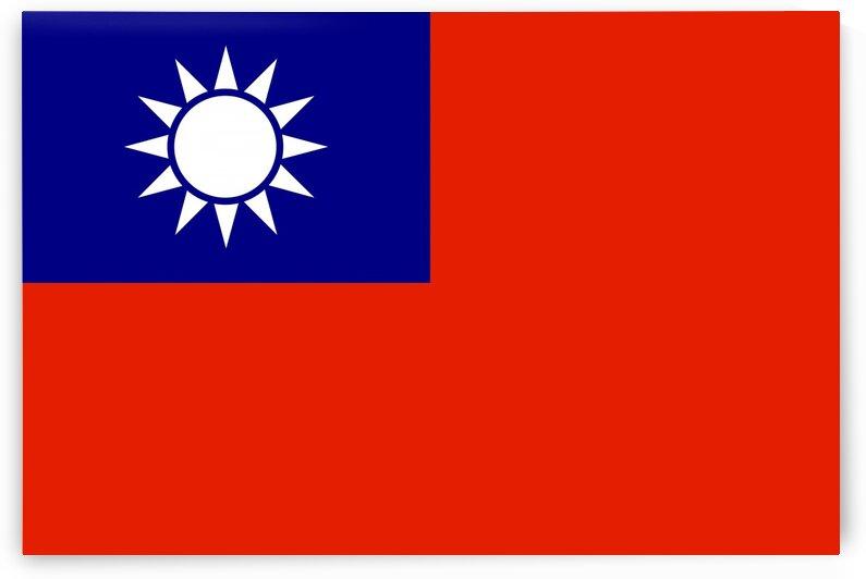 taiwan flag by Tony Tudor