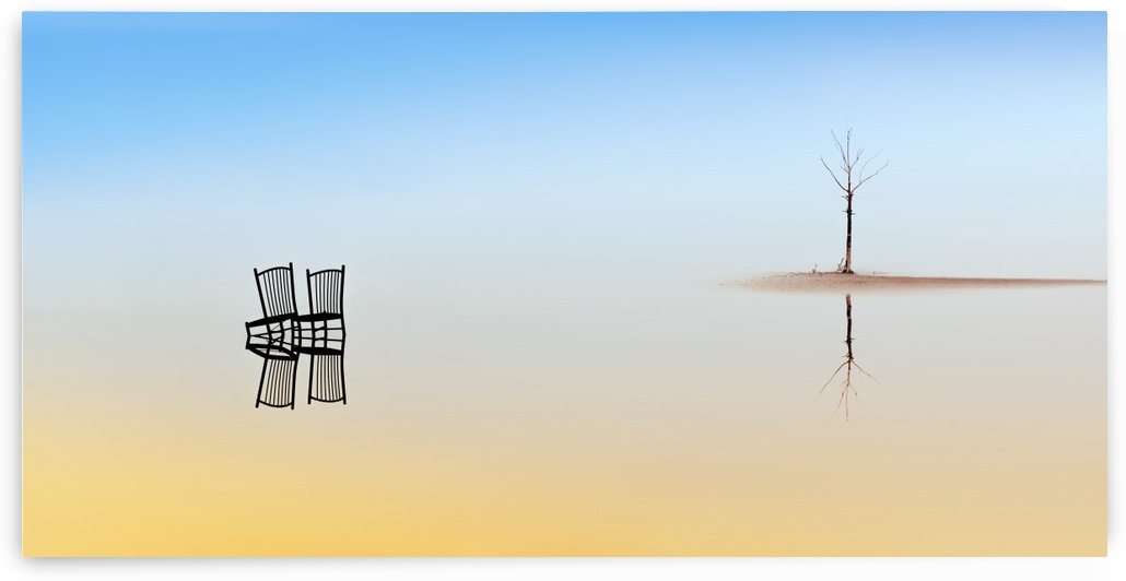 Two Chairs and a Tree by Juan Luis Duran by 1x