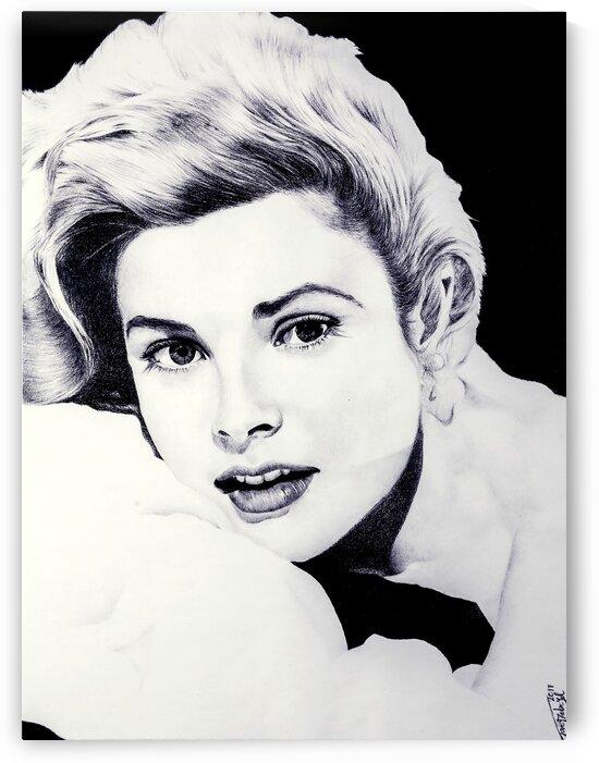 Grace Kelly by Tpencilartist