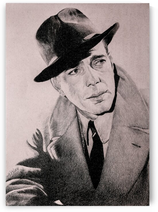 Humphrey Bogart by Tpencilartist