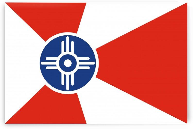 Wichita Kansas flag by Tony Tudor