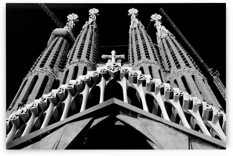 the Cathedral - La Sagrada Familia by Bentivoglio Photography