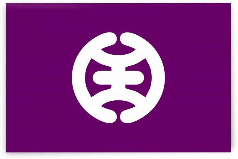 Hachioji Tokyo flag by Tony Tudor