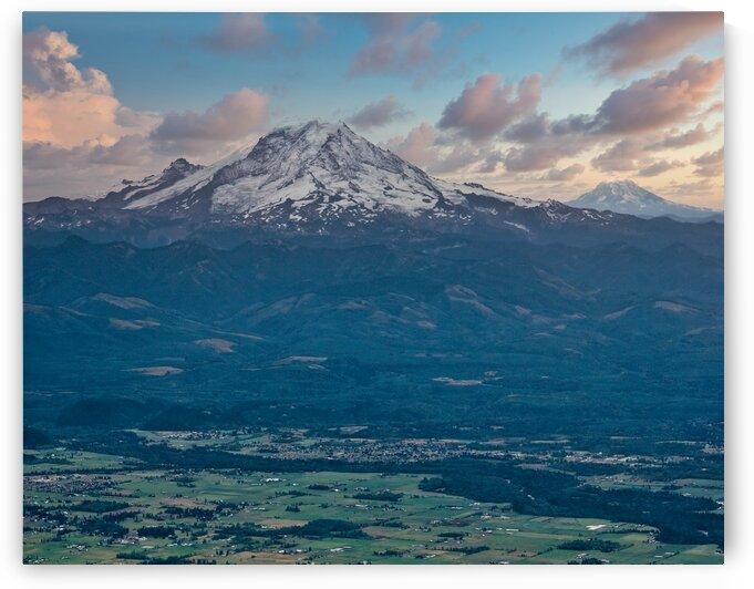 Mount Ranier in Distance by Darryl Brooks