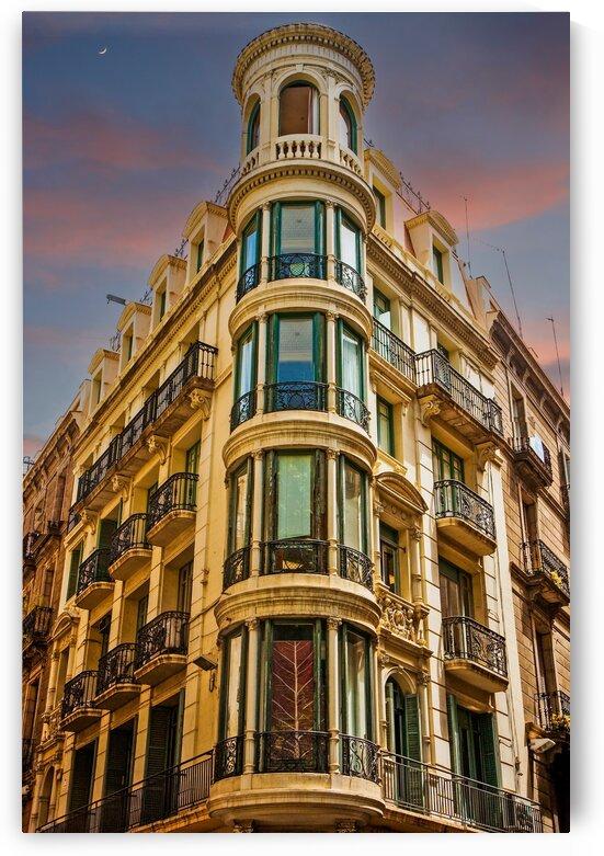 Corner Building with Round Windows Edit by Darryl Brooks