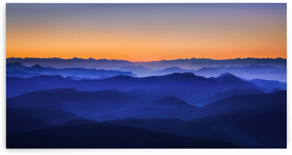 Misty Mountains by 1x