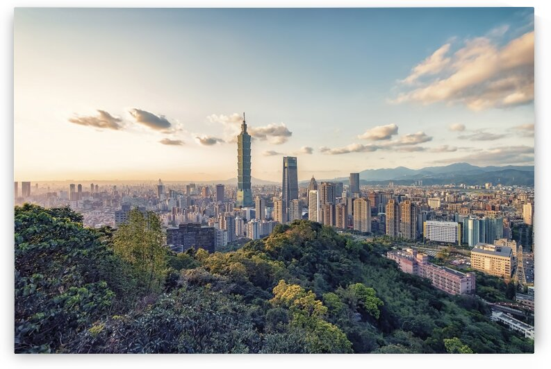 Evening in Taipei by Manjik Pictures