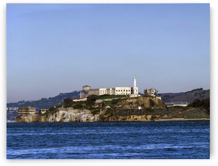 Alcatraz Island is an island located in the San Francisco Bay by Tony Tudor